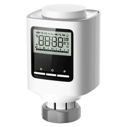Nivian Retail NVS-RADIATOR-TRV - Válvula inteligente para radiador, Enlaza vía radio…