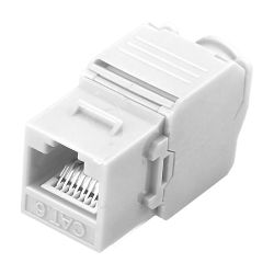 KS6-TL180 - Conector para cables UTP, Conector salida RJ45,…