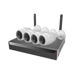 Ezviz EZ-X5S4W-C3C - Pack de Videovigilancia EZVIZ, NVR WiFi 4 canales, 4…