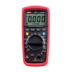 Uni-Trend MT-MULTIMETER-UT139C - Multímetro digital CAT III, Pantalla LED de hasta…