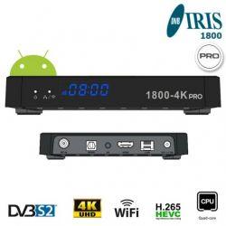IRIS 1800-4K PRO Receiver...
