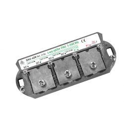 Ikusi DAU-408 Splitter + PAU 4 outputs FAST