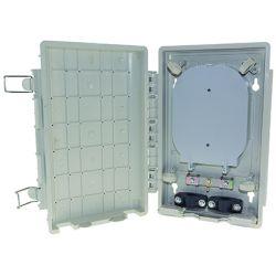 Ikusi RSE-012 Caja fibra interior con 2 bandejas de 6 fusionesCa…
