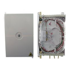 Ikusi RSE-121 Caja fibra interior con bandeja 12 portafusiones 1…