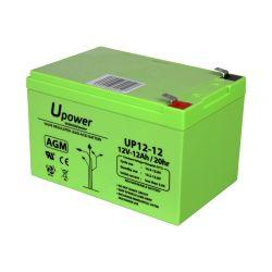 BATT-1212-U - Upower, Rechargeable battery, AGM lead-acid…