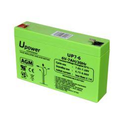 BATT-6070-U - Upower, Rechargeable battery, AGM lead-acid…