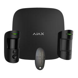Ajax AJ-STARTERKIT-CAM-MP-B - Kit de alarma profesional, Certificado Grado 2,…