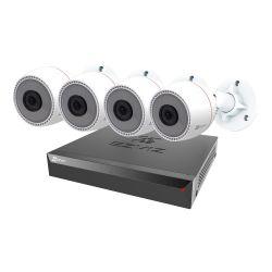 Ezviz EZ-CS-BN3824A0-E30 - EZVIZ Video Surveillance Kit, NVR PoE 8 channels, 4…