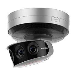 """Hikvision DS-2CD6A64F-IHS/NFC - Cámara Panorámica IP 24 Mpx, 4 Lentes 1/1.8""""…"""