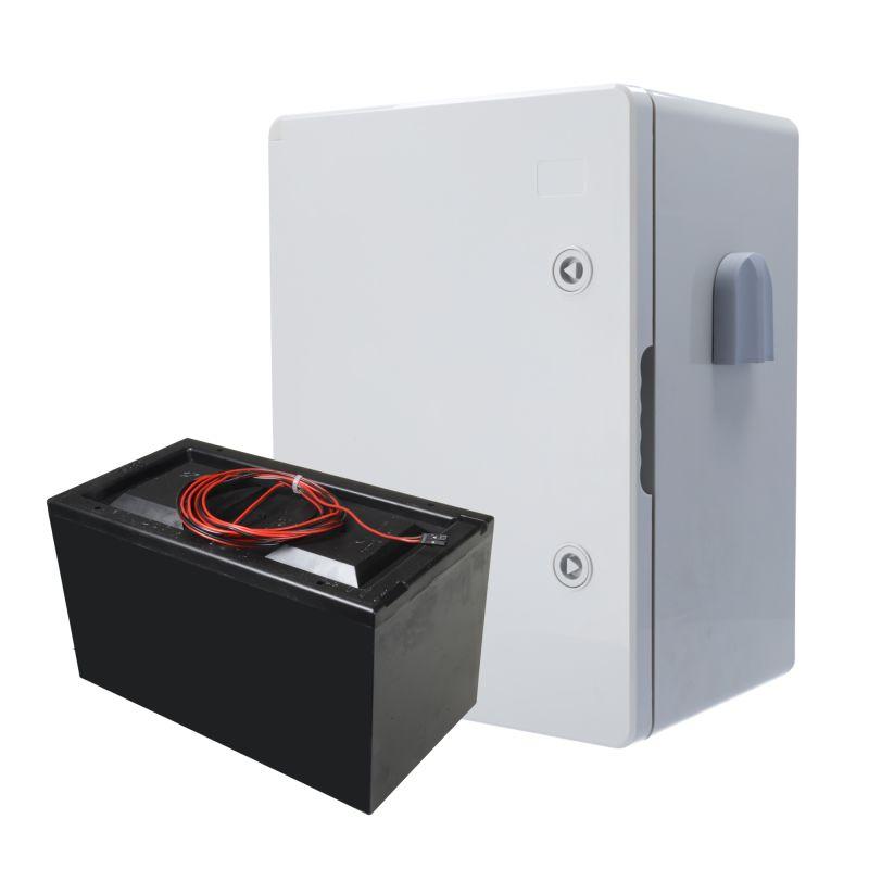 AJ-BATTERYBOX-7M - Ajax, Kit batería con caja poliéster, Duración…
