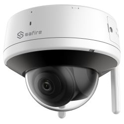 "Safire SF-IPD821WHA-4PW - 4 Megapixel IP Dome Camera, 1/2.7\"" Progressive Scan…"