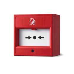 """Incendio AH-0217 Manual call point """"break glass"""" in red color"""