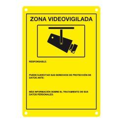 DEM-281 Placa CCTV homologada en castellano