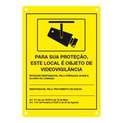 DEM-281P Placa de CCTV en portugués