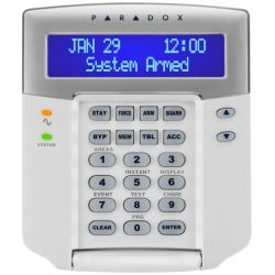 Paradox K641+ keyboard LCD screen keyboard and software in FRENCH