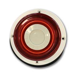 DEM-1077 Indoor circular siren  with flash