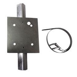 Optex SIPLRP-PB Soporte de montaje en poste compatible con la…