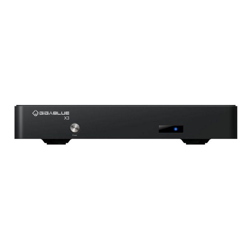 Receptor Gigablue HD X3 COMBO TWIN DVB-S2/T2/C 750MHz Enigma2