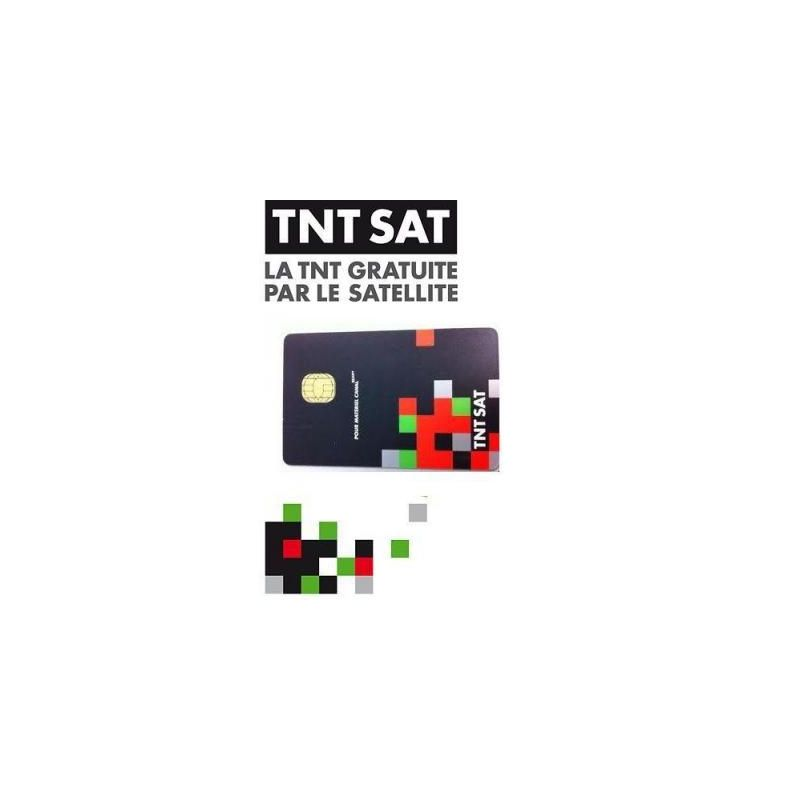 TNT Sat card for Astra 19th French channels, 4 years subscription