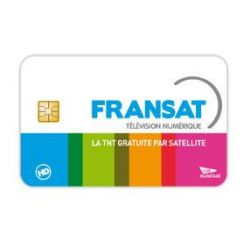 Carte FRANSAT, français Atlantic Bird 5W chaînes, abonnement infinie