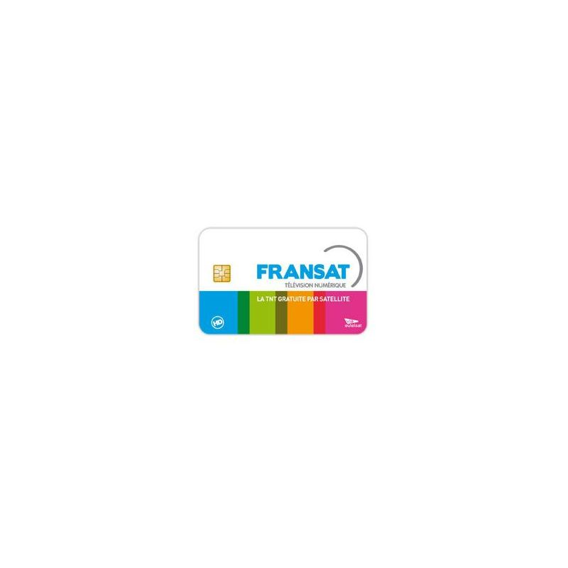 Fransat card for French channels, 5w Atlantic Bird, subscription infinite