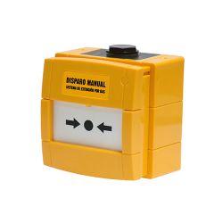 Honeywell W3A-Y000SG-K013-65 Pulsador amarillo KAC de disparo de…