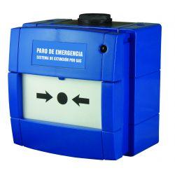 Notifier by Honeywell W3A-B000SG-K013-66 Pulsador azul KAC de…