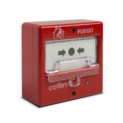 Cofem PUCAY Pulsador manual de alarma rearmable microprocesado y…