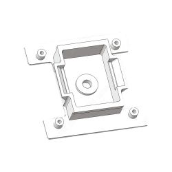 Dahua RAW021-00 Adaptador Dahua para acoplar la cámara de Dahua…