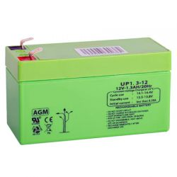 Queen Alarm SS_12V1.3AH 12V / 1.2 Amp battery.