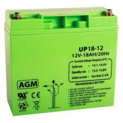 Queen Alarm SS_12V17AH 12V, 17 Amp battery.