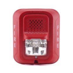 Notifier by Honeywell P2RL Sirena con lámpara estroboscópica a…