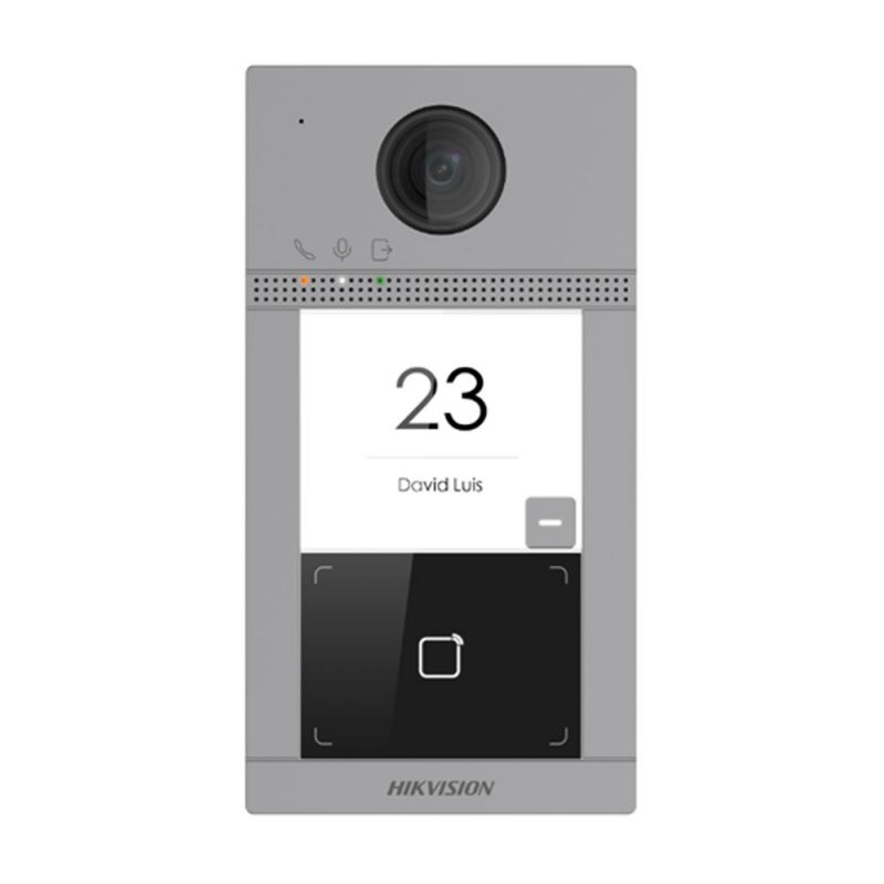 Hikvision DS-KV8113-WME1(B) Estación de videoportero IP…