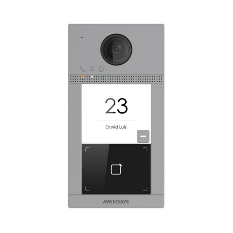 Hikvision DS-KV8113-WME1(B)/FLUSH Estación de videoportero IP…