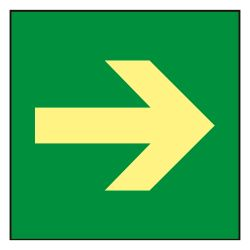 SIGNS-A1000DB-2222 - Sinage poster, Exits and evacuation routes, Escape…
