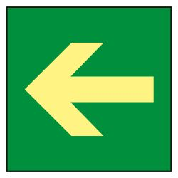 SIGNS-A1000IB-2222 - Sinage poster, Exits and evacuation routes, Escape…