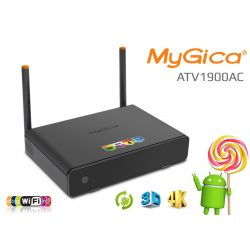 Nuevo Smart Tv Android Mygica ATV1900AC UHD 4K, 4xCPU + 8xGPU, 2GB RAM, Wifi Dual