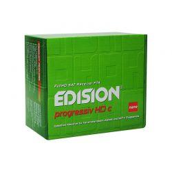 Edision Nano Progressive HD C, Receptor DVB-S2 con USB
