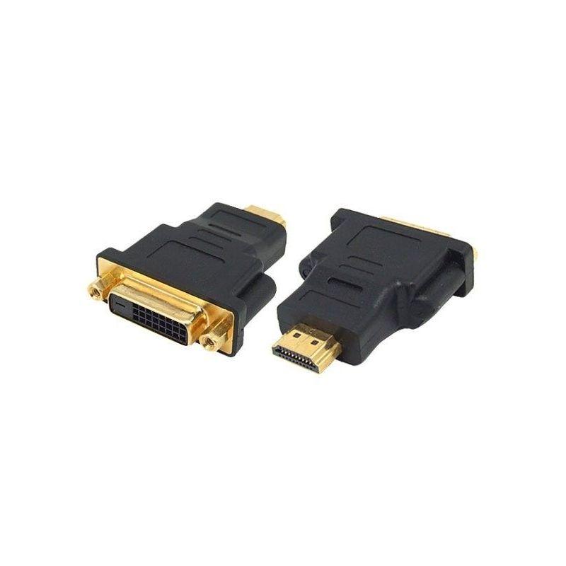 Conversor HDMI macho a DVI hembra Gold