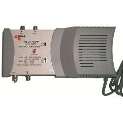 Central SAT Cabecera 1 entradas/1 salidas Triax mezcla terrestre 42 dB