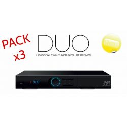 Receiver Qviart DUO Twin DVB-S2 Satelite + IPTV WIFI N