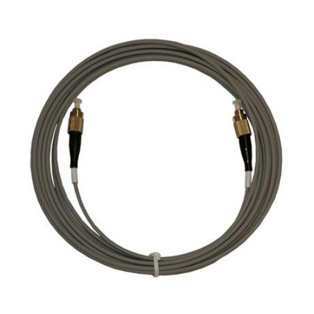 Triax cable fibra optica acero blindado LSZH 40 mt