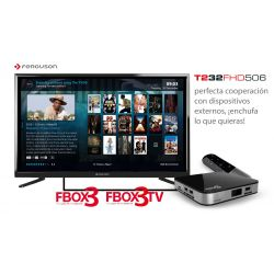 "Televisão Ferguson T232FHD506 32"" FullHD 1080p DVB-T2"