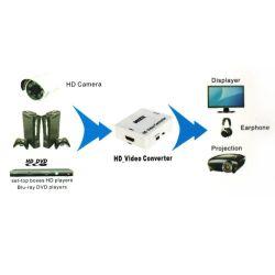 Converteur AV 3xRCA (audio+video) to HDMI, UpScaler 1080p, alimentation par USB