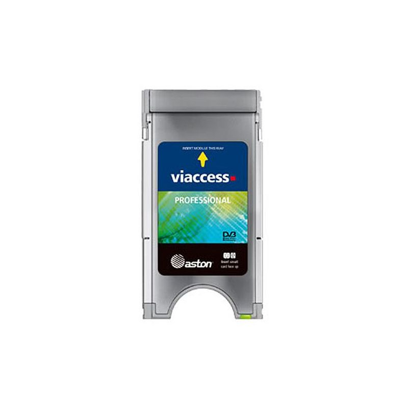CAM PCMCIA Profesional Viacces. 2 Canales/10 Pids