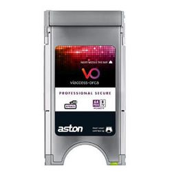 CAM PCMCIA Profesional Aston secure Viacces. 8 Canales/64 Pids