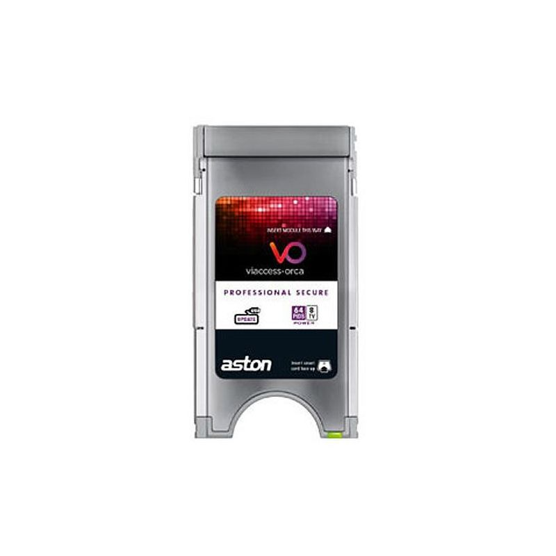 Aston Viacces secure professional CAM PCMCIA 8 Channel/64 Pids