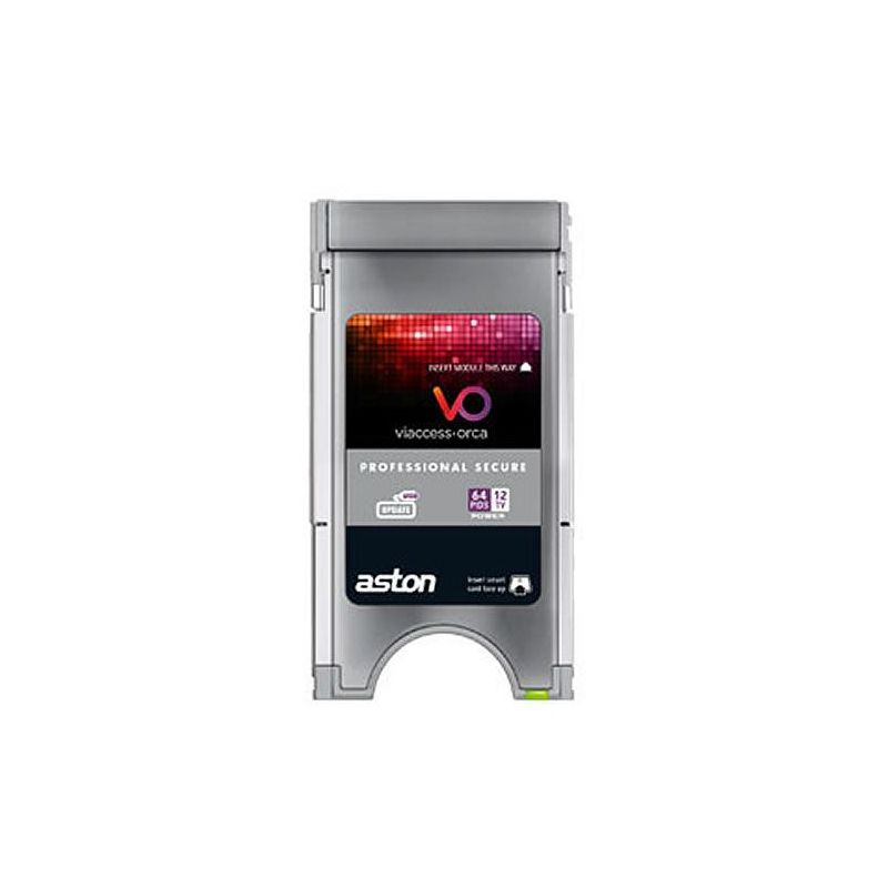 Aston Viacces secure professional CAM PCMCIA 8 Channel 64 Pids
