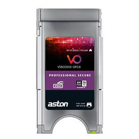 Aston Viacces secure professional CAM PCMCIA 16 Channel 64 Pids
