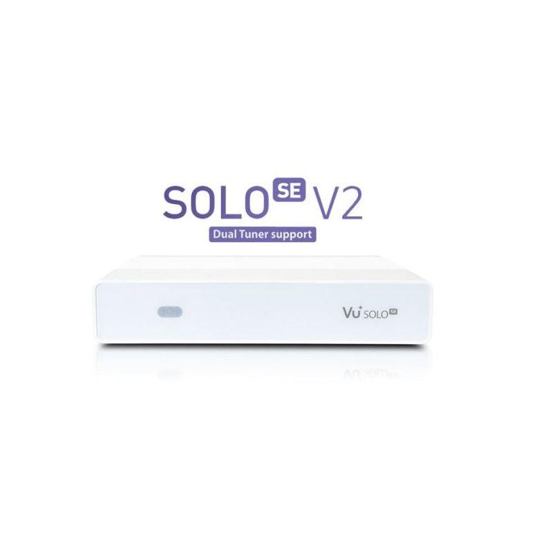 Vu+ SOLO SE V2 Twin/Combo/Sat/TDT DVB-S2/T2/C PVR 1080p HDMI Version 2 Enigma2
